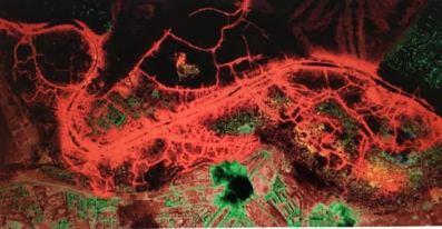 El mapa infrarojo de olores.